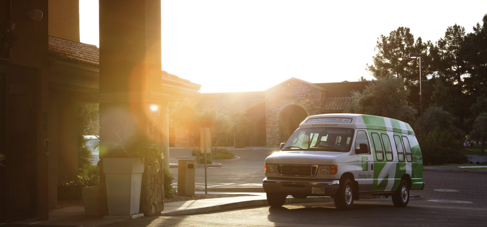Holiday Inn Phoenix Chandler Transport Van